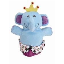 Hand Puppet, Royal Jungle Elephant Hand Puppet - 1