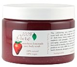 100% Pure Strawberry Lemonade Body Scrub  13 oz