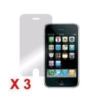 Pack de 3 Films de protection écran pour Apple iPhone 3g 3gs