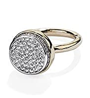 Autograph Diamanté Pave Round Ring