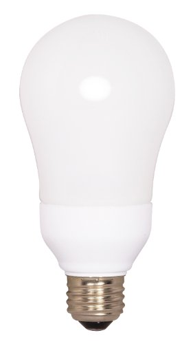 tikoly satco s7291 15 watt medium base a type bulb 2700k 120v equivalent to 60 watt. Black Bedroom Furniture Sets. Home Design Ideas