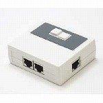 シグマAPO LAN切替器 2系統対応 ホワイト LS21WH