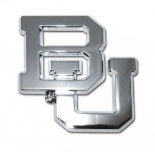 Baylor METAL Auto Emblem (new open design) (Baylor Auto Decal compare prices)