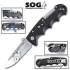 Sog Kilowatt Folding Knife With Wire Strippers