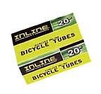 Inline Bike Tube 700 x 18/23C Presta Valve 48 mm xtra long valve stem for areo wheels. 121525