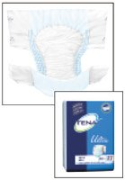 Tena Ultra Briefs (Large) - Case of 80