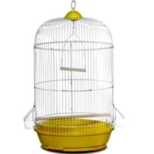 Prevue Pet Products #31999 Small Round Cage 6 PACK Assorted color