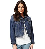 Indigo Collection Pure Cotton Denim Jacket