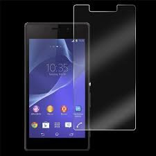 MVTH Brand Clear Tempered Glass Screen Protector for Sony Xperia M2