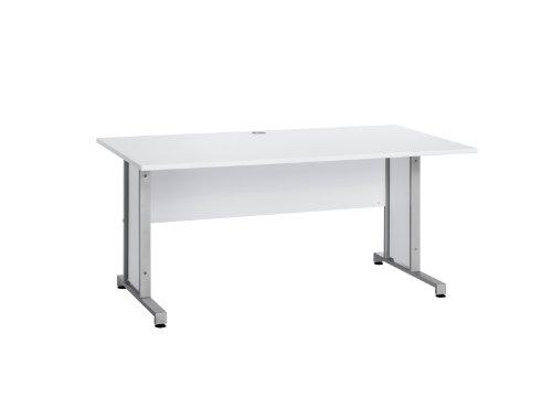 MAJA-Mbel-1221-8839-Schreibtisch-Icy-wei-Abmessungen-BxHxT-160-x-75-x-80-cm