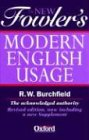 The New Fowler's Modern English Usage (0198602634) by Fowler, H. W.