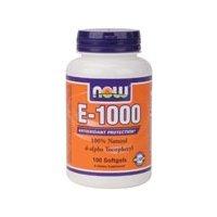 Now Foods Vitamin E-1000 Capsules - Pack of 100 Capsules