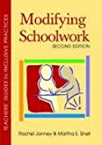 img - for Modifying Schoolwork (Teachers' Guides to Inclusive Practices) book / textbook / text book