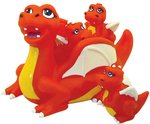 Bath Tub Toy Dragon 4 Piece Bath Set