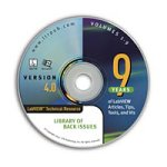 LabVIEW Technical Resource Library of Back Issues on CD Version 4.0- Single User Version