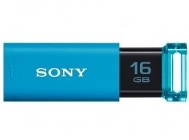 ソニー(SONY) USB フラッシュメモリ 16GB USB3.0 LED ソニー ブルー 海外向パッケージ品