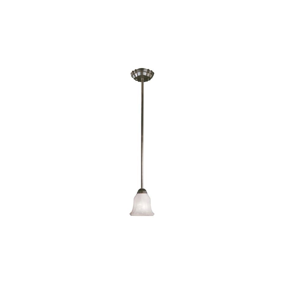 Minka Lavery 1641A 156 PL Marche Energy Smart 1 Light Mini Pendant Noble Bronze