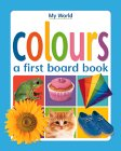Colours (My World Board Books) (Danish, French and Greek Edition)