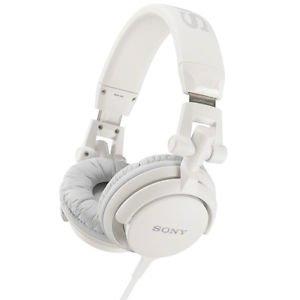Sony Mdr-v55 White Digital Dj Style Foldable