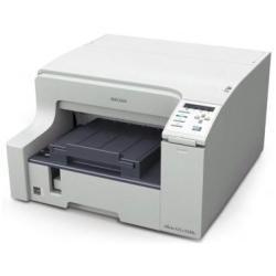 Ricoh Aficio GX e5550N Imprimante couleur recto-verso jet d'encre A4 3600 ppp x 1200 ppp jusqu'à 30 ppm (mono) / jusqu'à 30 ppm (couleur) capacité : 250 feuilles USB, 10/100Base-TX