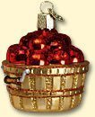 #!Cheap Old World Christmas Apple Basket Ornament