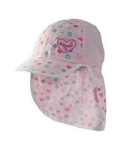 Kooringal (クーリンガル) Millymookミリーモック 赤すぐ掲載中 フラップ付き 花柄ベビー帽子 (46cm)