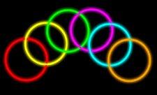 """Glow Stick Bracelets- Tube of 100 8"""" Premium Glow Stick Bracelets"""