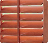 "Norman Wood Plantation Shutter 36""x60"", Wood Shutters by Norman"