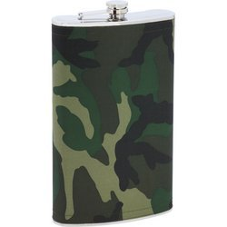 Maxam Enormous 1 Gallon Stainless Steel Flask With Camo Wrap