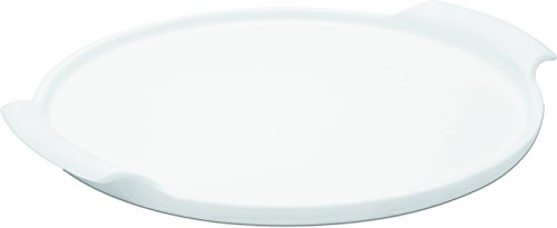 Oxford Porcelain Pizza Stone with Handle