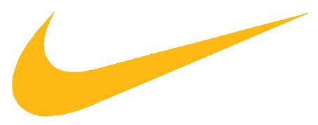 the gallery for gt yellow nike swoosh logo
