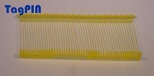 Kunststofffäden standard tagPin 10.000 fils de 40 mm (jaune)
