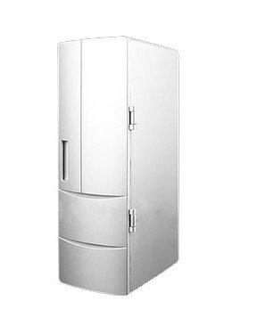 FDL Cool Comfortable Mini USB Fridge Refrigerator Cold Beverage Drinking Cooler Silver