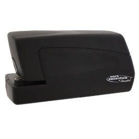 Swingline Work Essentials Compact Electric Portable Half-Strip Stapler With Ac Adapter (71756)