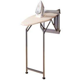 folding ironing board silver hide away. Black Bedroom Furniture Sets. Home Design Ideas