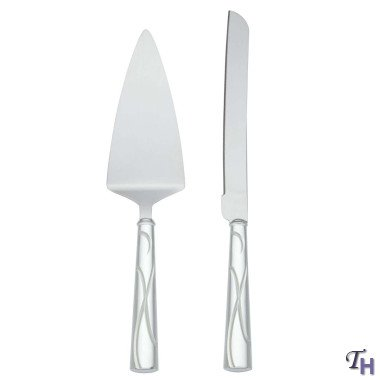 Lenox Bridal Adorn Cake Knife and Server