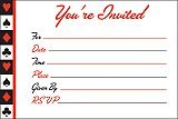 Card Night Invitations