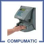 Icon TimeVue with Hand Punch Biometric Reader