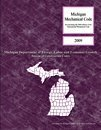 2009 Michigan Mechanical Code - Soft-cover - 1580019935