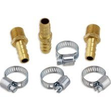 "7pc Air Hose Repair Kit Solid Brass 3/8"" by American tool exchange"