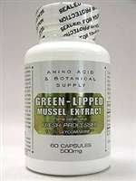 Amino Acid & Botanical Su - Green-Lipped Mussel Extract 500mg60caps