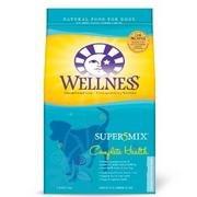 Wellness Super5Mix Dry Dog Food Complete Health Whitefish Sweet Potato 30 Lbs