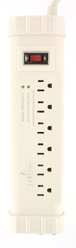 Office Grade Surge Strip, 6 Outlets, 6 Ft Cord with 5-15P Plug, S1000-PTC