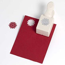 Nordic Snowflake Medium Double Punch Martha Stewart Crafts