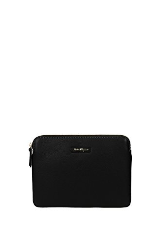 clutches-salvatore-ferragamo-men-leather-black-and-gold-029501063644-black-17x23-cm
