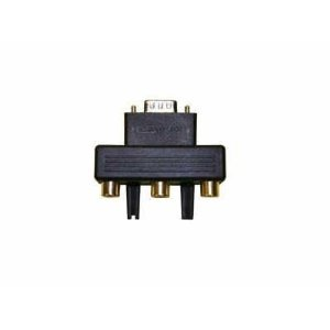 Optoma - Component video adapter - HD-15 (M) - RCA (F)