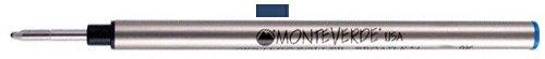 Monteverde K231BB Recharge pour stylo roller Bleu Nuit Lot de 2