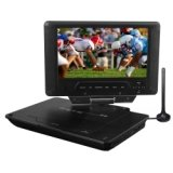 Envizen Portable Tv DVD 7IN LCD Plus Card Reader High Definition