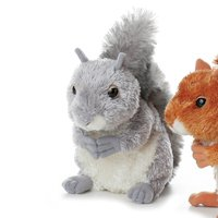 "Aurora Plush Nutty Gray Squirrel 6.5"" by Aurora"