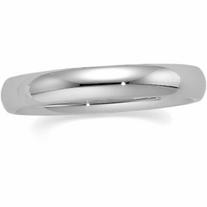Genuine IceCarats Designer Jewelry Gift Sterling Silver Wedding Band Ring Ring. 10.00 Mm Comfort Fit Band Comfort Fit Band In Sterling Silver Size 10.5